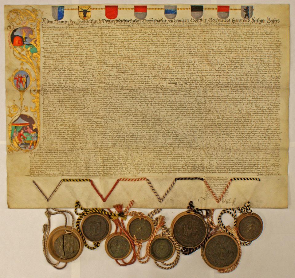 Beitritt zum Goldenen Bund