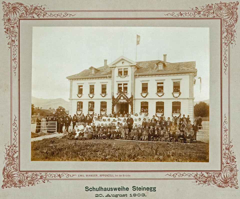 Schulhausweihe Steinegg