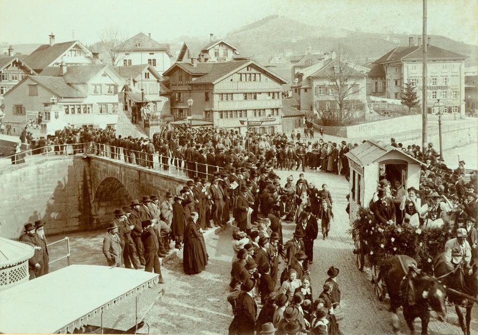 Fasnachtsumzug in Appenzell