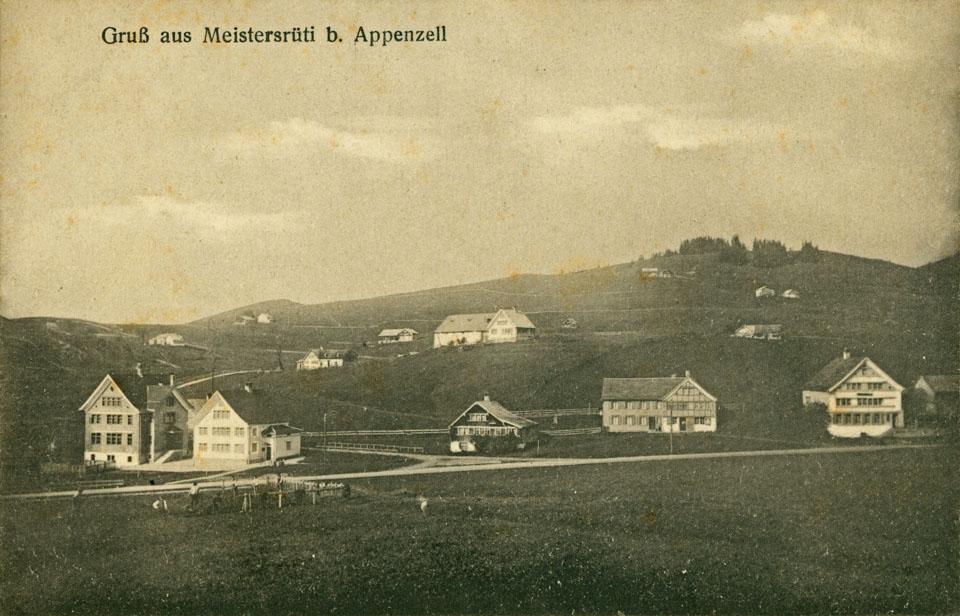 Alte Schulhäuser in Meistersrüte