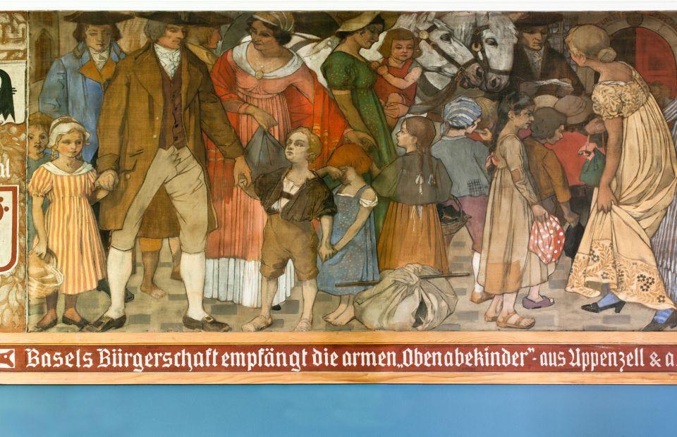 Obenabekinder in Basel
