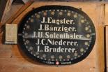 Gedenktafel an die fünf Ausserrhoder Opfer des Sonderbundskriegs