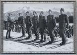 Armeemeister Bänziger mit General Guisan im Wallis