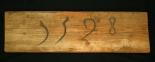 Holzstück vom Galgen in Trogen