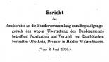 Begnadigungsgesuch des Otto Lutz aus Walzenhausen