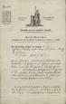 Frey-Patent für den Modelstecher Bartholome Mertz aus Herisau