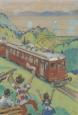 Werbung für die Rorschach-Heiden-Bergbahn