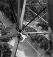 Bau der Haggenbrücke