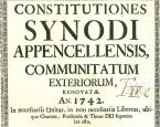 Statuten der appenzellischen Synode der Reformierten Kirche