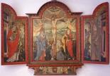 Flügelaltar in der Lourdes-Kapelle