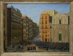 Strassenschlacht in Neapel