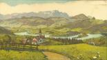 Projektierter Lankstausee bei Appenzell