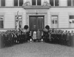 Der österreichische Exkaiser Karl I. zu Besuch im Kollegium Appenzell
