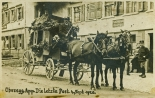 Letzte Pferdepost in Oberegg