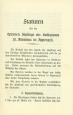 Statuten für die externen Zöglinge des Kollegiums Appenzell