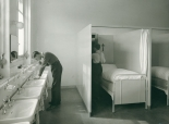 Schlafzelle des Internats im Kollegium St. Antonius