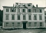 Brand des alten Kurhauses Weissbad