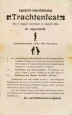 Programmblatt des Appenzeller Trachtenfestes 1904