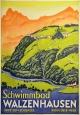 Plakat zum Schwimmbad Walzenhausen