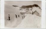Winterdienst beim Gasthaus zum Storchen in Schwellbrunn