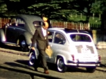 Stolze Appenzeller Automobilbesitzer in Hundwil