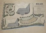 Gartenplan für Landammann-Wohnsitz