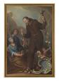 Rätselhaftes Gemälde im Kapuzinerkloster