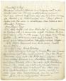 Tagebuch zum Ausbruch des Ersten Weltkrieges