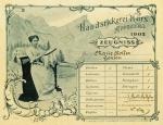 Handstickerei-Zeugnis von Marie Koller